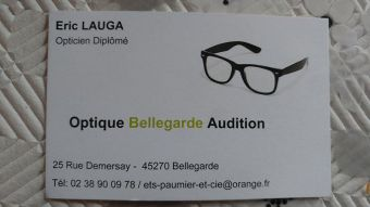 Logo Optique Bellegarde Audition